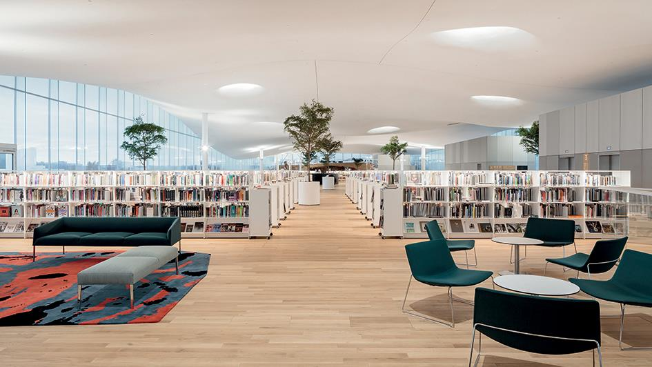 Arper in the new Helsinki library