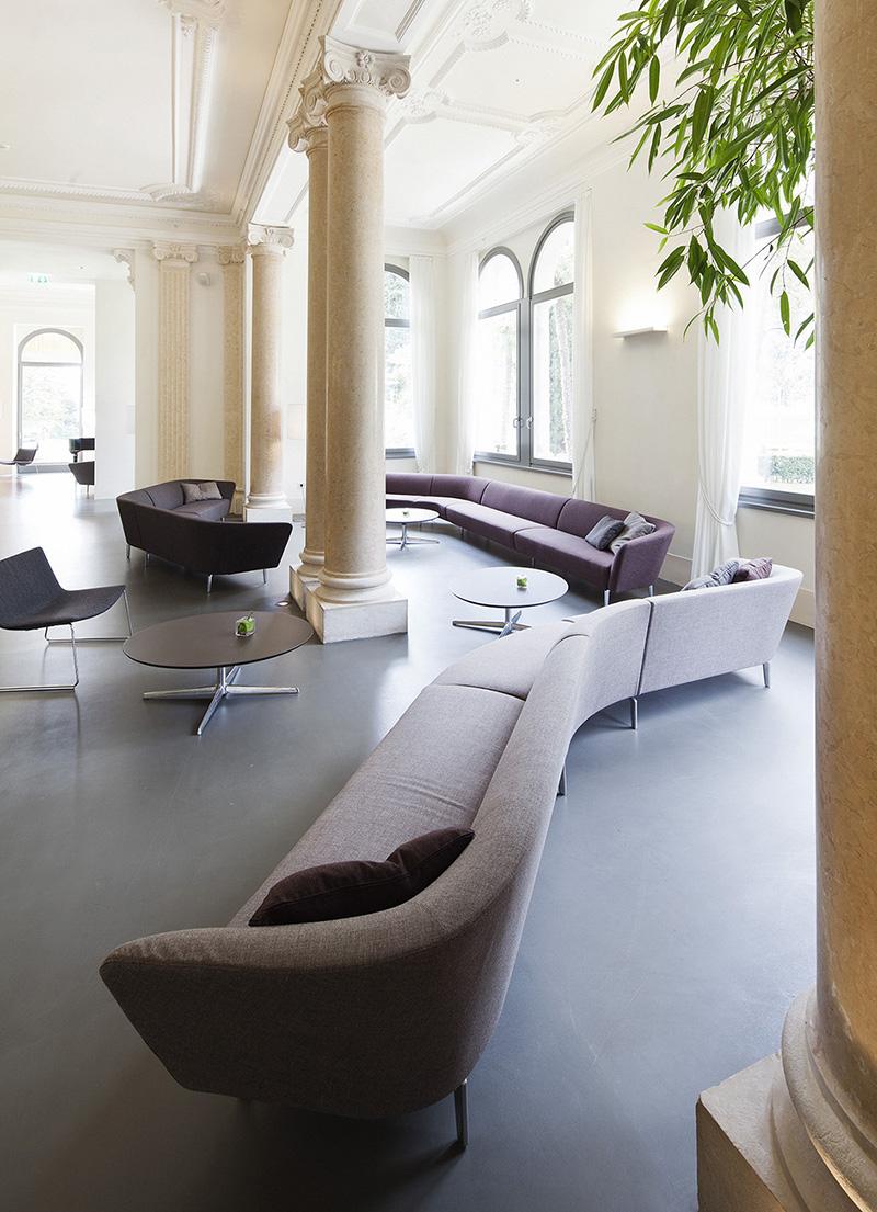 Furniture Lounging Arper Lido Palace Hotel