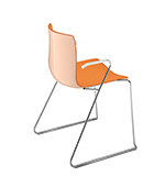 Chairs Catifa 46 — Technical sled - Arper