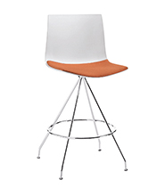 Stools Catifa 46 — Counter stool - Arper