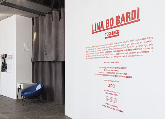 Lina Bo Bardi: Together, Berlino