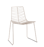 Chaises Leaf — Empilable - Arper