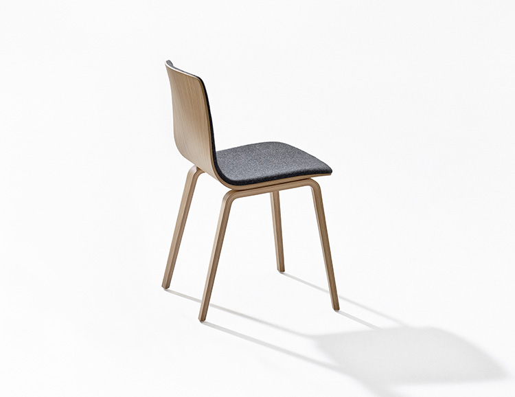 Chairs Aava — 4 wood legs - Aava Arper  3