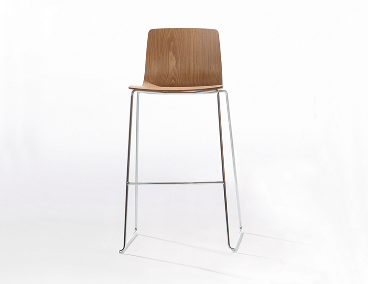 Woud sgabello da bar mono cm rovere finnish design shop