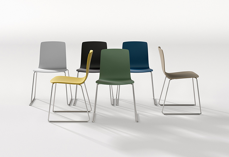 Aava sled arper design furniture - Chaises contemporaines design ...