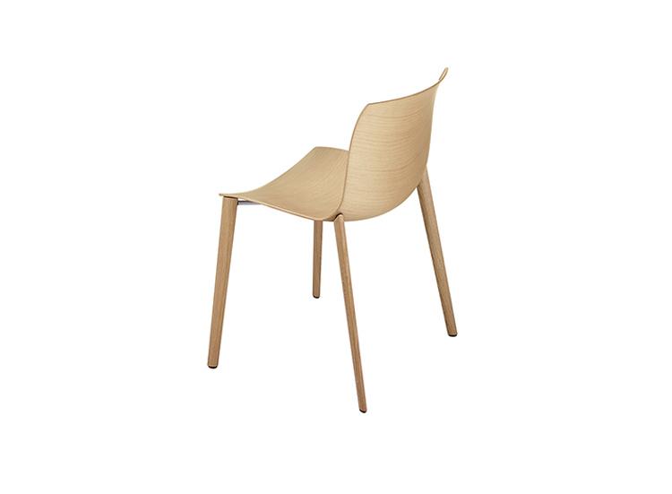 Catifa 46 4 Wood Legs Arper Design Furniture