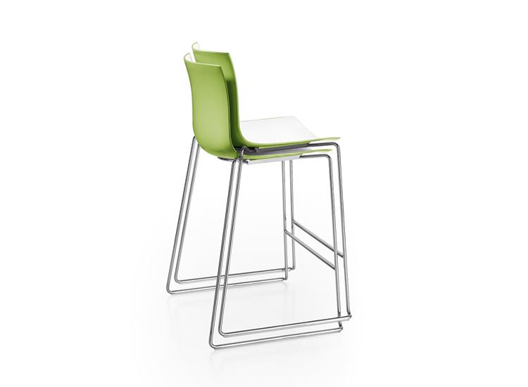 Catifa 46 counter stool arper design furniture for Barhocker 3ds