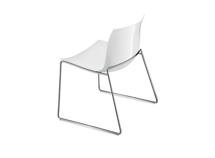 catifa 53 sled lounge arper design furniture. Black Bedroom Furniture Sets. Home Design Ideas