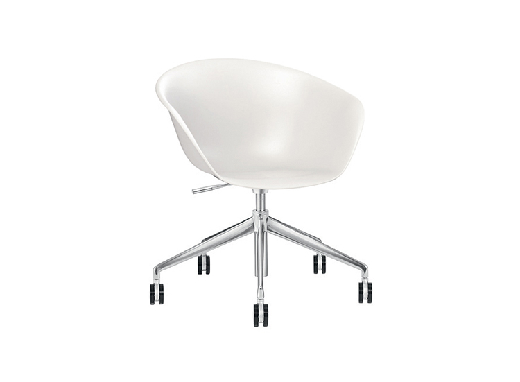 Task chairs Duna 02 — 5 ways - Duna 02 Arper  1