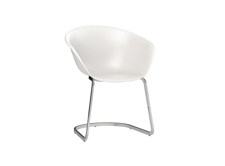 Armchairs Duna 02 — Cantilever - Duna 02 Arper  2