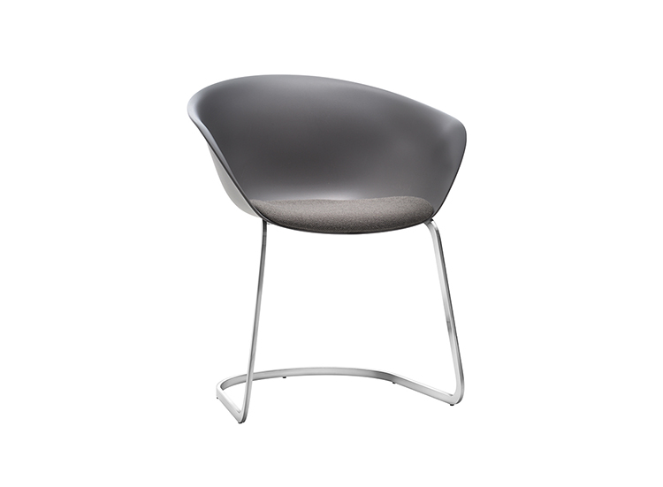 Armchairs Duna 02 — Cantilever - Duna 02 Arper  1