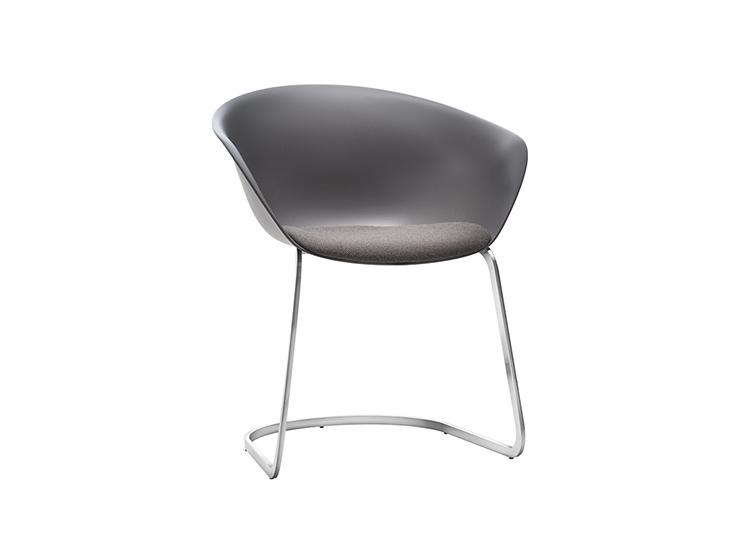 Enjoyable Duna 02 Cantilever Arper Design Furniture Machost Co Dining Chair Design Ideas Machostcouk