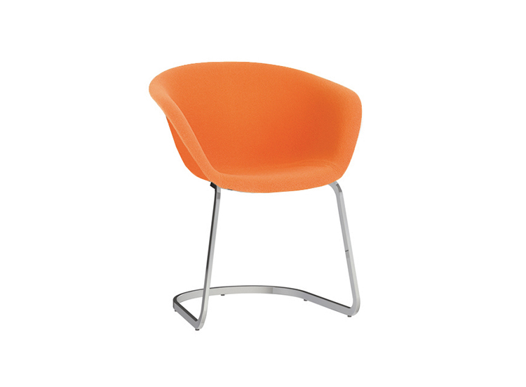 Armchairs Duna 02 — Cantilever - Duna 02 Arper  4