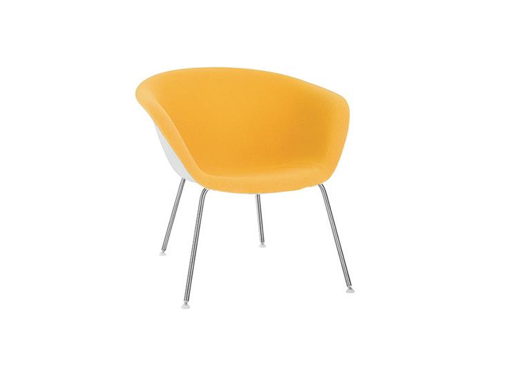 Astonishing Duna 02 Lounge 4 Legs Arper Design Furniture Machost Co Dining Chair Design Ideas Machostcouk