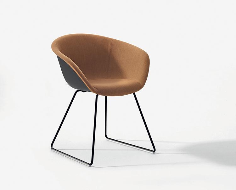 duna 02 sled arper design furniture. Black Bedroom Furniture Sets. Home Design Ideas