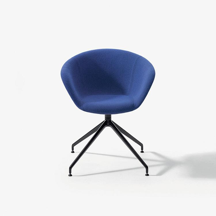 duna 02 trestle swivel arper design furniture. Black Bedroom Furniture Sets. Home Design Ideas