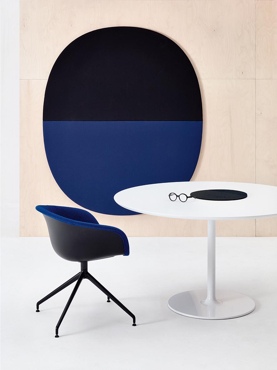 Duna 02 Trestle Swivel Arper Design Furniture