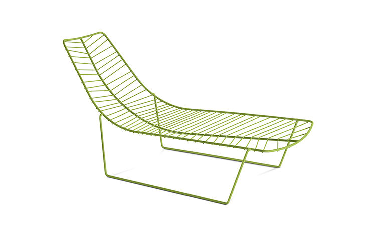 Lounge Leaf — Chaise longue - Leaf Arper  1