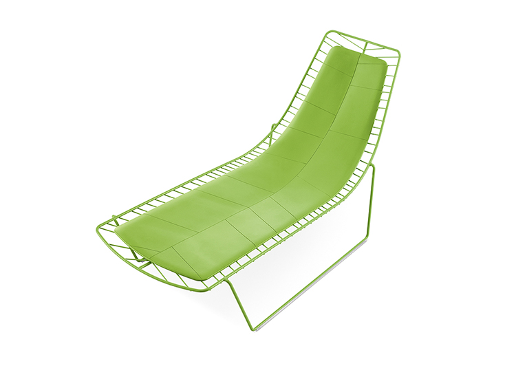 Lounge Leaf — Chaise longue - Leaf Arper  3