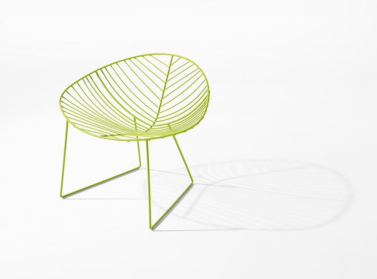 Lounge Leaf — Slitta Lounge - Leaf Arper  1