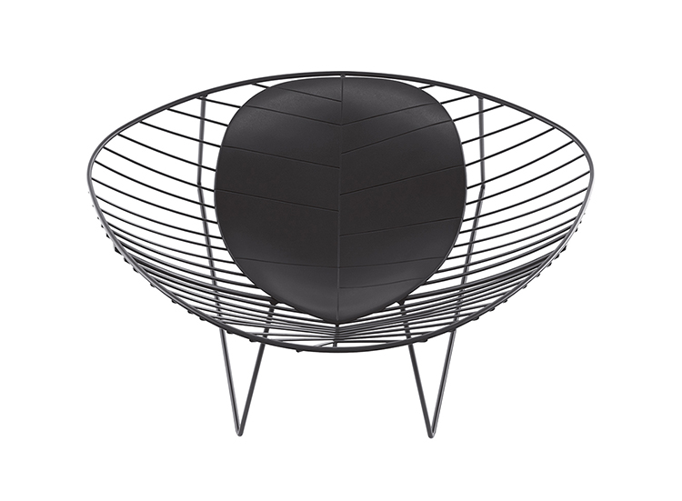 Lounge Leaf — Slitta Lounge - Leaf Arper  5