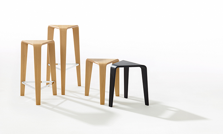 Stools Ply — H 76 - Ply Arper  2