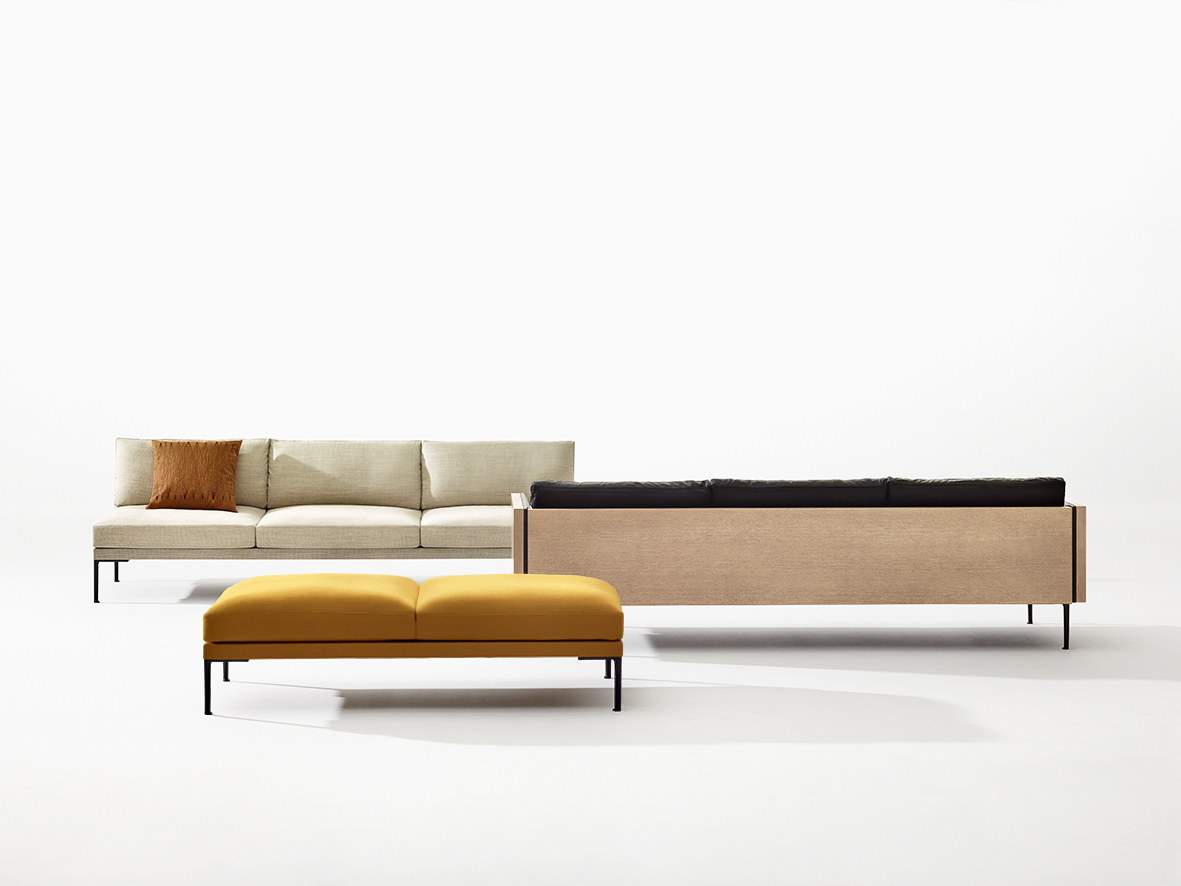 Magnificent Steeve Bench 2 Seats Arper Design Furniture Unemploymentrelief Wooden Chair Designs For Living Room Unemploymentrelieforg