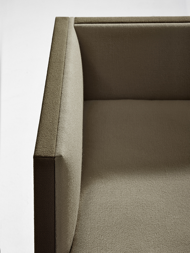 Steeve — 1 seat, seat cushions - Steeve Arper  3
