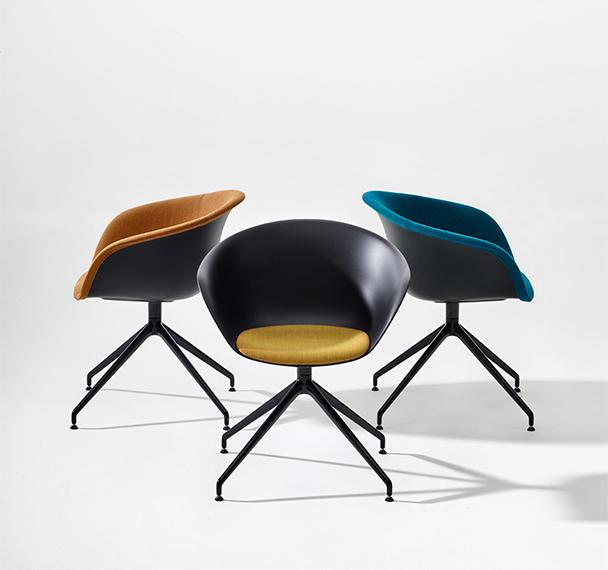 collection duna 02 arper design furniture. Black Bedroom Furniture Sets. Home Design Ideas