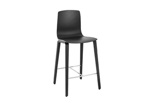Aava — Counter stool 4 wood legs