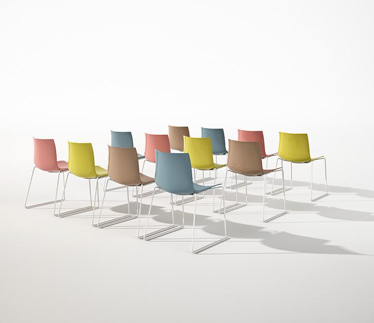 catifa 46 sled arper design furniture. Black Bedroom Furniture Sets. Home Design Ideas