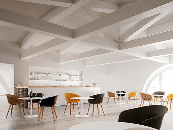 Dizzie H 74 Arper Design Furniture