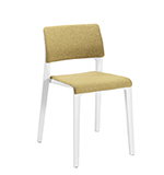 Chaises Juno — Pad dossier et assise - Arper