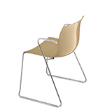 Chairs Catifa 53 — Technical sled - Arper