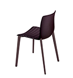 Chairs Catifa 46 — 4 wood legs - Arper