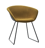 Armchairs Duna 02 — Sled - Arper