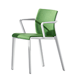 Armchairs Juno — Seat and backrest pads - Arper