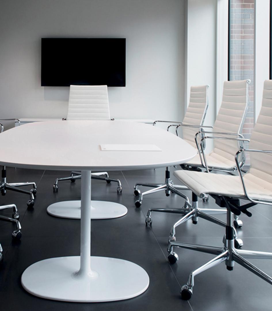 Dizzie h 74 arper design furniture - Tisch oval weiay ...