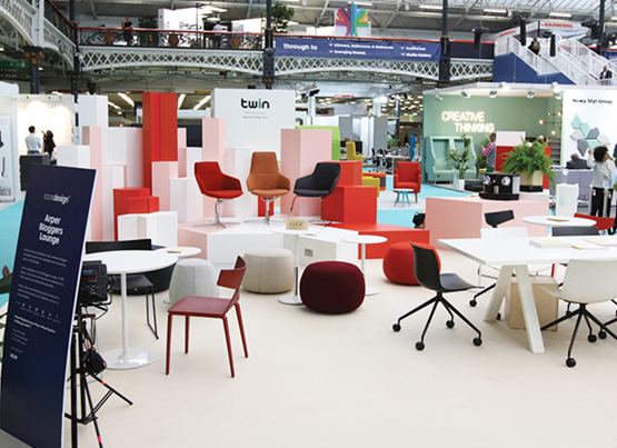 Bloggers Lounge al 100% Design