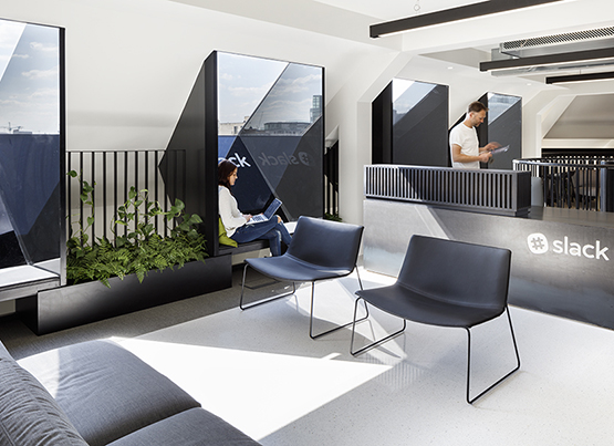 Slack offices in London