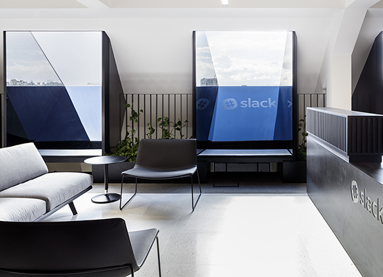Slack offices - Arper