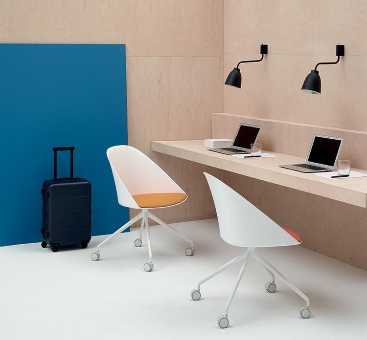 Cila Chair Trestle Fixed Arper Design Furniture