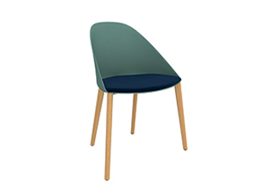 Cila — Chair 4 wood legs