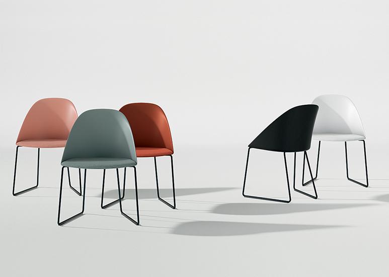 cila sled arper design furniture. Black Bedroom Furniture Sets. Home Design Ideas
