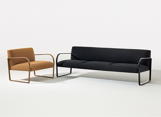 Arcos: New three-seat sofa