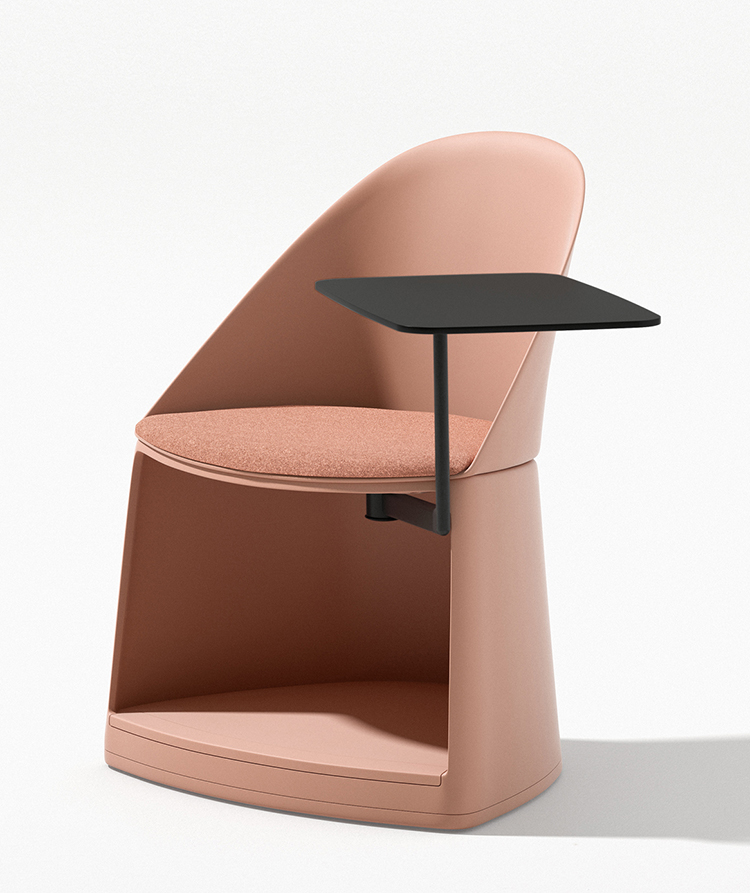 Cila Go – Chair with castors - Cila Go Arper  1