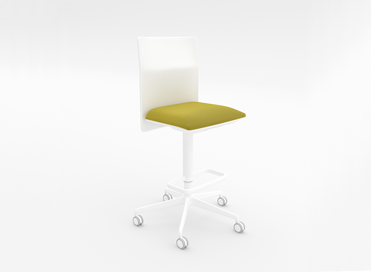 Planesit Stool — 5 ways swivel - Planesit Arper  1