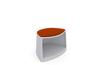 Cila Go Stool – With castors