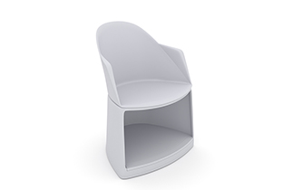 Cila Go – Armchair with castors