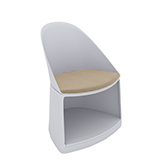 Chairs Cila Go – Chair with castors - Arper